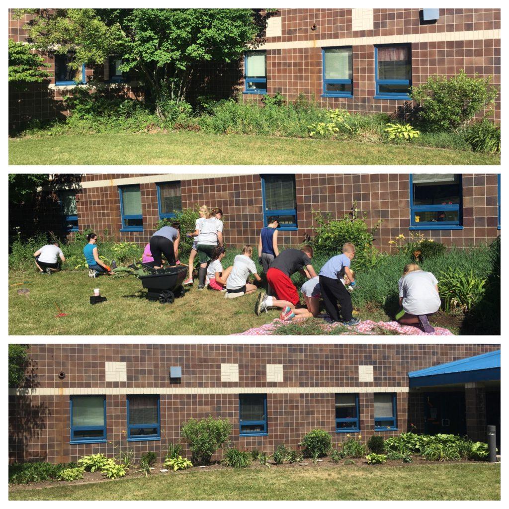 2017-06-24 Horizon Elementary Garden Volunteers