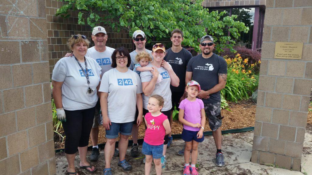 2017-06-24 Holt North Campus Garden Volunteers